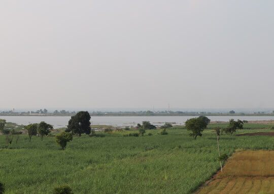 Mhatoba Lake Near Meher Retreat